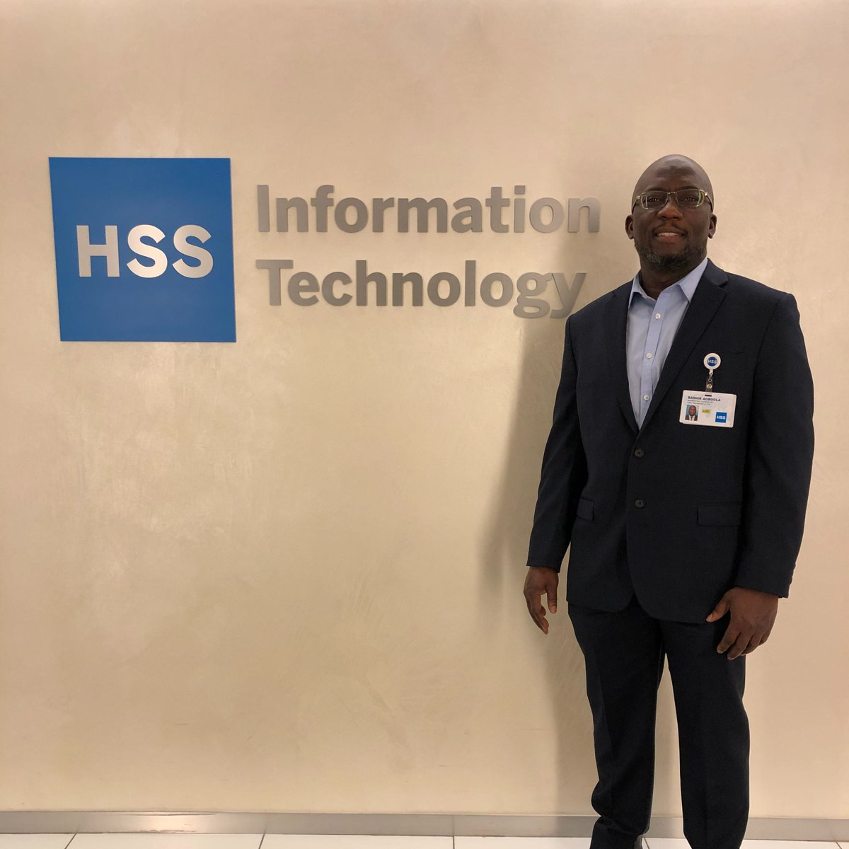 """Bashir Agboola, Vice President/Chief Technology Officer at HSS:  """"#BlackHistoryMonth represents for me a time of remembrance, celebration, appreciation, as well as a call to action."""" https://t.co/YMUqOMz5ct"""