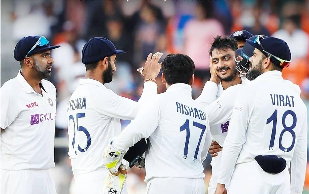 Another comprehensive victory 🇮🇳  Glad to get a few extra recovery days, and then on to the next one!  Also special congratulations to @ImIshant and @ashwinravi99 for their remarkable achievements. Am sure there are many more matches and wickets to come! 👍🏼  #INDvsENG