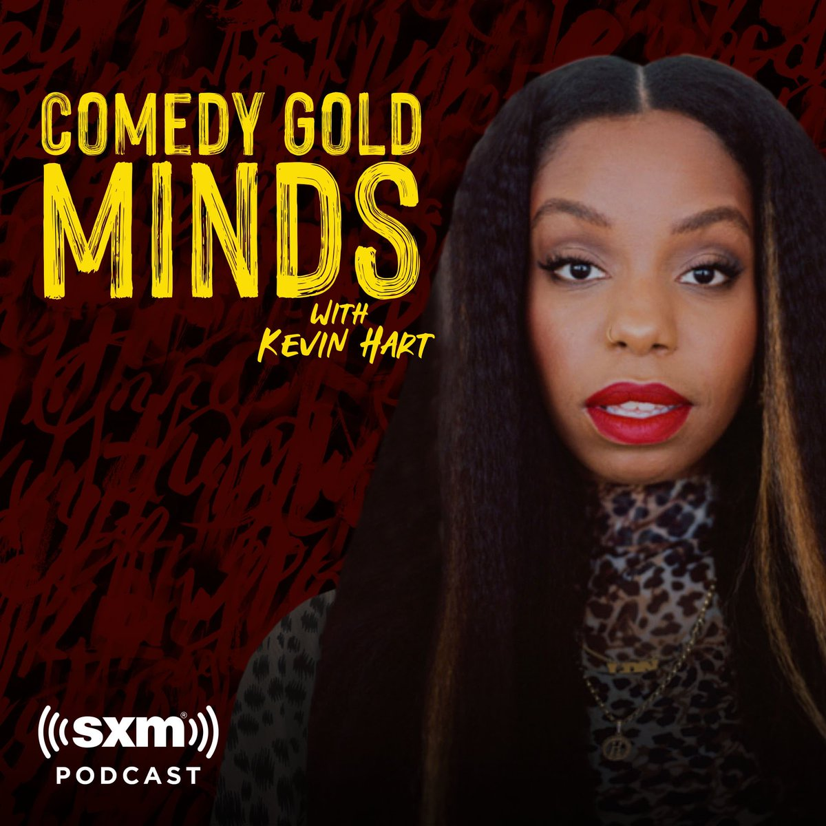 Guys! My comedy hero @KevinHart4real sat down and interviewed ME for his new #ComedyGoldMinds podcast!!!   It was epic!!! ... check it out below 🙈