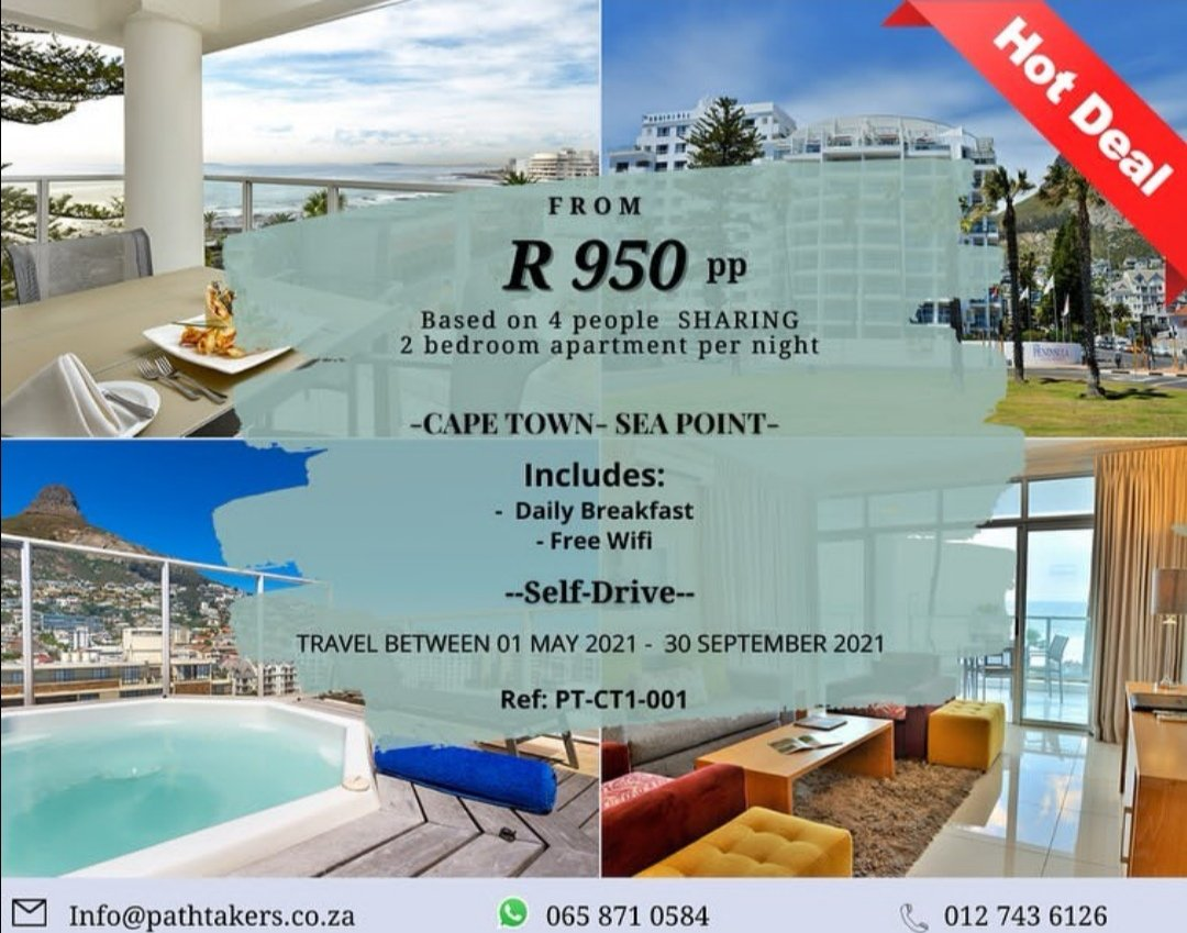 Unwind in the mother city with your loved one's  #Travel #travelblogger #travelers #travelholic #traveladdict #sea #nature #beach #beachgirl #beachsunset #vacation