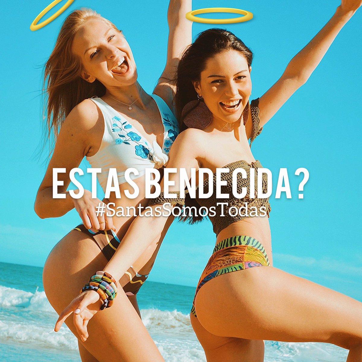 Estas bendecida! 😇? #SantasSomosTodas SS2021  😍💕🌱☀️🌊 #SantaBraguita Esencia femenina est. 2009   #yoga #pilates #poledance #padel #Frida #danza #surf #ski #beach #playa #Verano #Summer #tattoo #Ibiza #bikini & #braguita en una sola prenda.📍#Barcelona