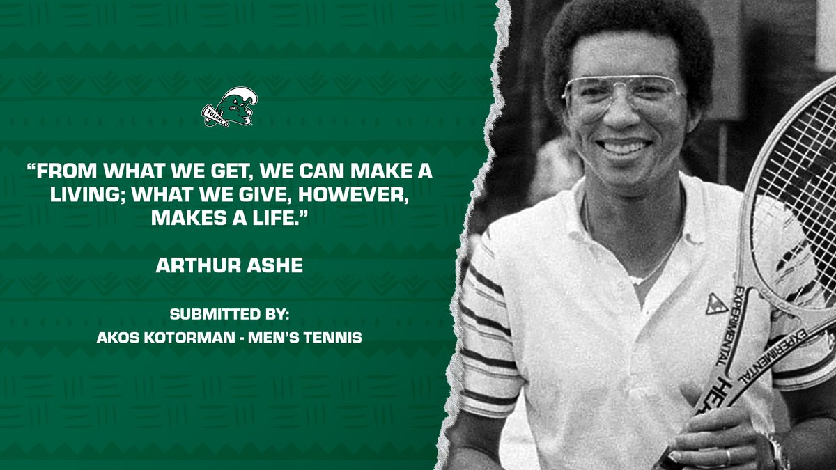 In celebrating Black History Month, Tulane student-athletes share their favorite quotes by a black leader in history. #RollWave #BHM