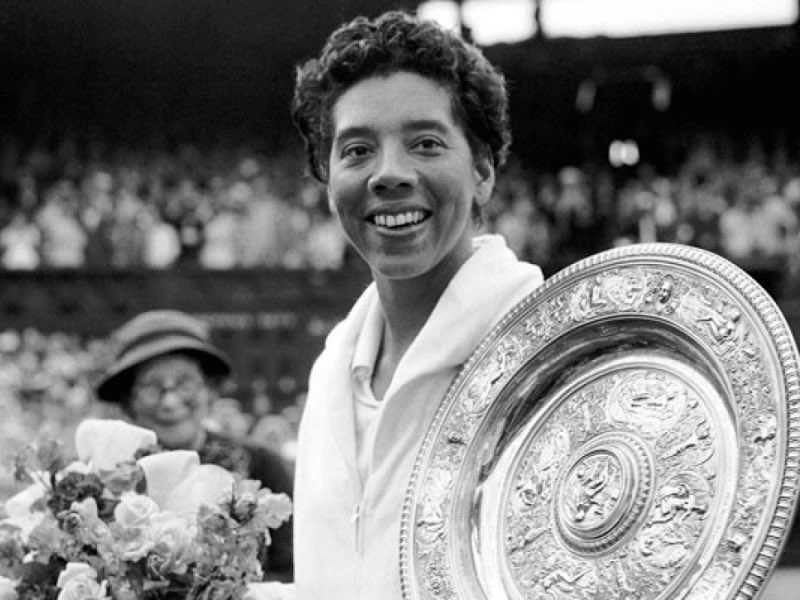 """""""In the field of sports you are more or less accepted for what you do rather than what you are."""" - Althea Gibson #BHM"""