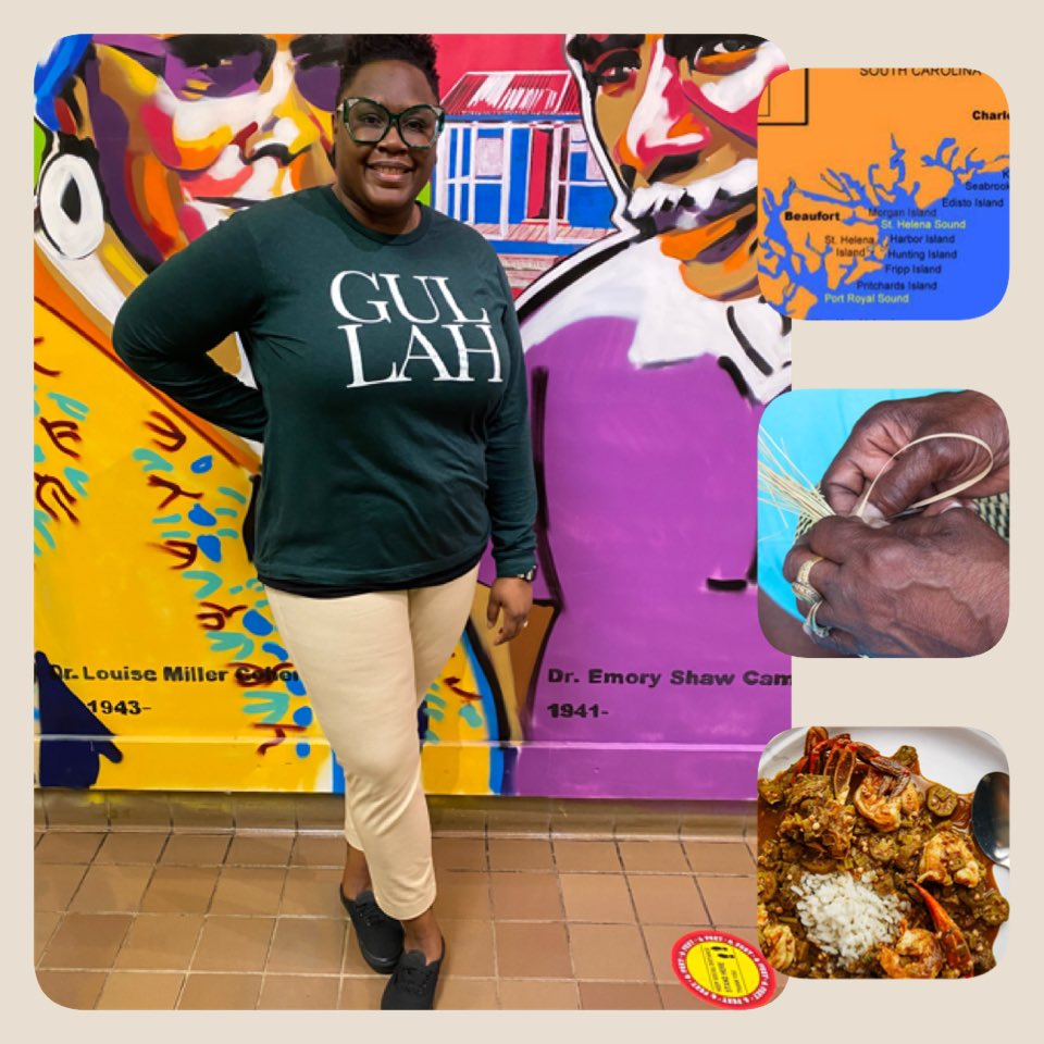 BHM Shirt of the Day: The Gullah Culture is the native culture of Black Americans in the SC Lowcountry and the Beaufort Sea Islands. Our culture is rich with vibrant dialect, native storytelling, amazing cuisine, crafts, music, folk beliefs, and traditions. #BHM  #GullahCulture