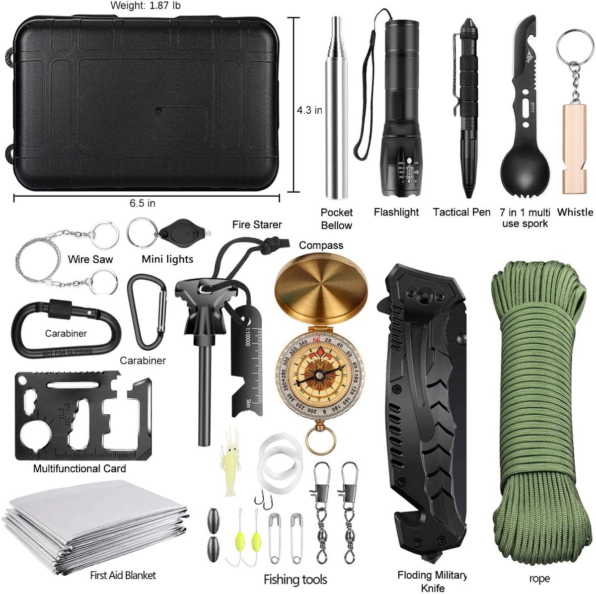 ad: 40% off  Emergency Survival Kit   use code 7V3PENDC at checkout  Link0 Link0