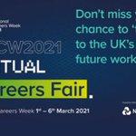 Image for the Tweet beginning: It's National Careers Week next