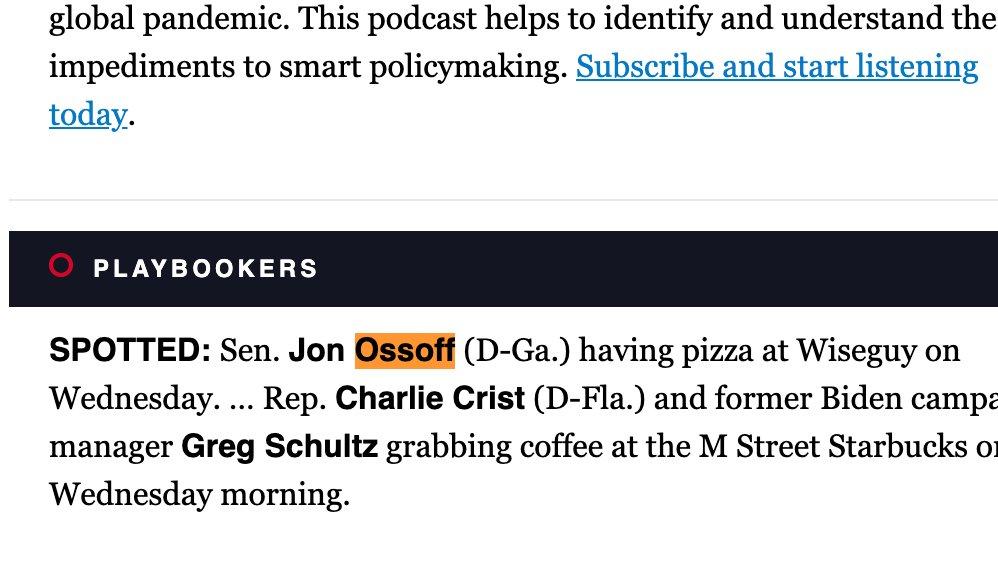 My kind of Senator 🍕🍕🍕🍕 @politico
