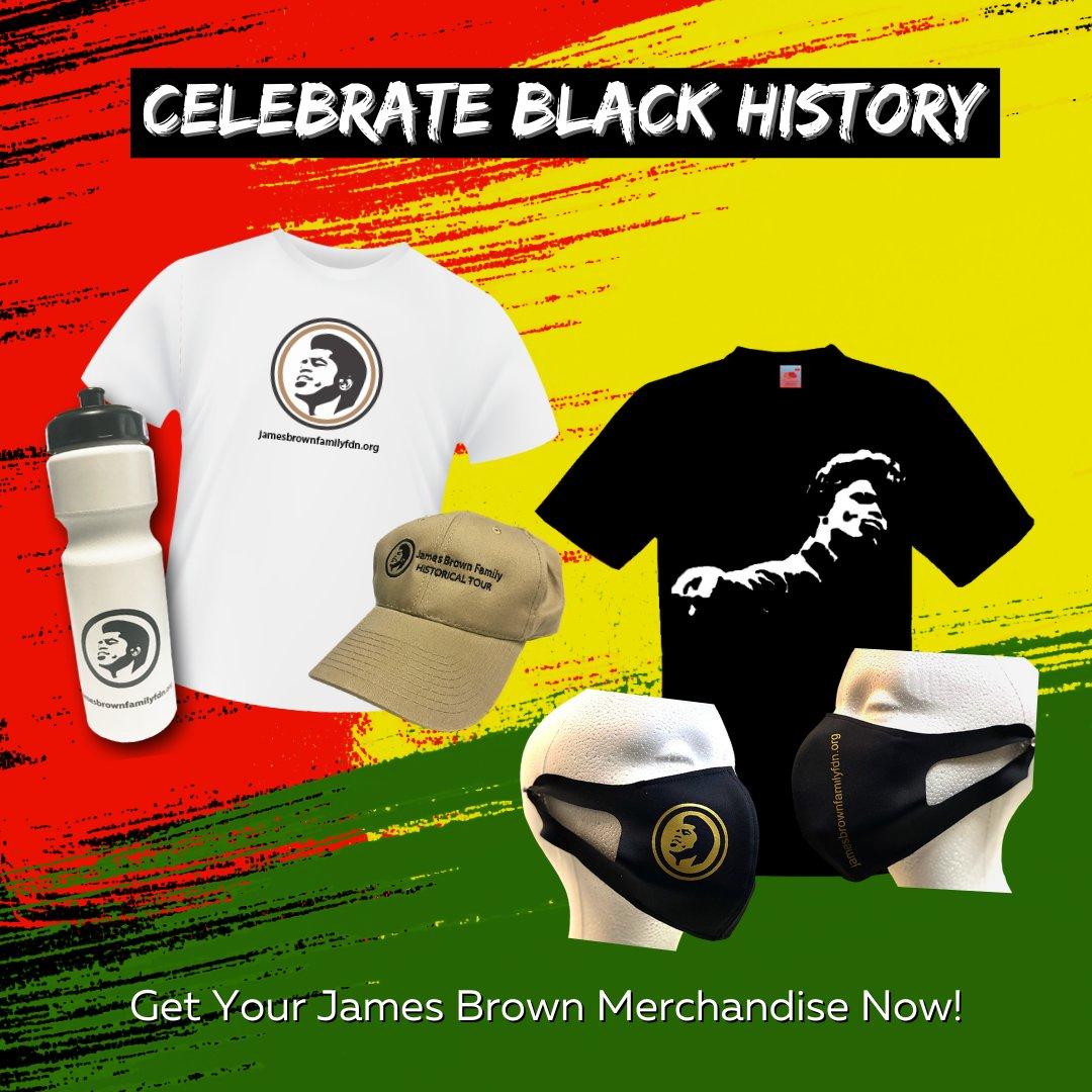 Shop Black History Month merchandise inspired by James Brown at   #JamesBrown #Toursouvenir #waterbottle #tshirt #cap #BlackHistory #BlackHistoryMonth #TheGodfatherofSoul #blacklivesmatter #funk #blackpower #history #blackpride #imblackandimproud