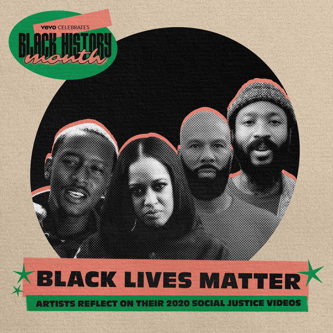 2020 sparked a worldwide cry for social justice and equality. For Black History Month, we look back on how @Buddy, @Lute_west9, @Rapsody, and @Common made their voices heard in the year that made history.  🖤 ⠀⠀⠀⠀⠀⠀⠀⠀⠀ ▶️