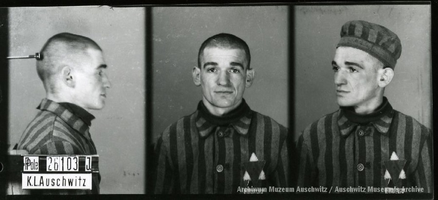 26 February 1911 | A Polish Jew, Chaim Gelblat, was born in Puławy. A tailor.   In #Auschwitz from 30 January 1942. No. 26103 He perished in the camp on 26 March 1942.