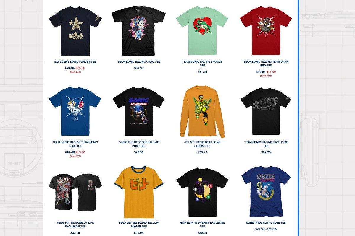 Buy 1, Get 1 50% Off on All Shirts via SEGA Shop. https://t.co/EkrJcyd7T1