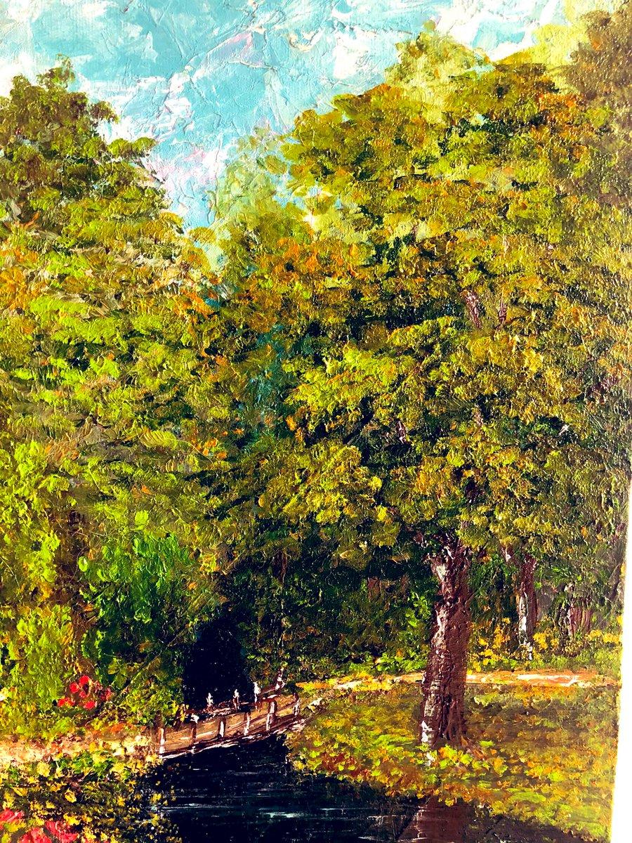 """""""Basta entender que todos nós estamos aqui por uma razão, e basta comprometer-se com ela. Assim podemos rir de nossos grandes ou pequenos sofrimentos e caminhar sem medo, conscientes de que cada passo tem um sentido..."""" Paulo Coelho #paulocoelho #art #painting #ArtistOnTwitter"""