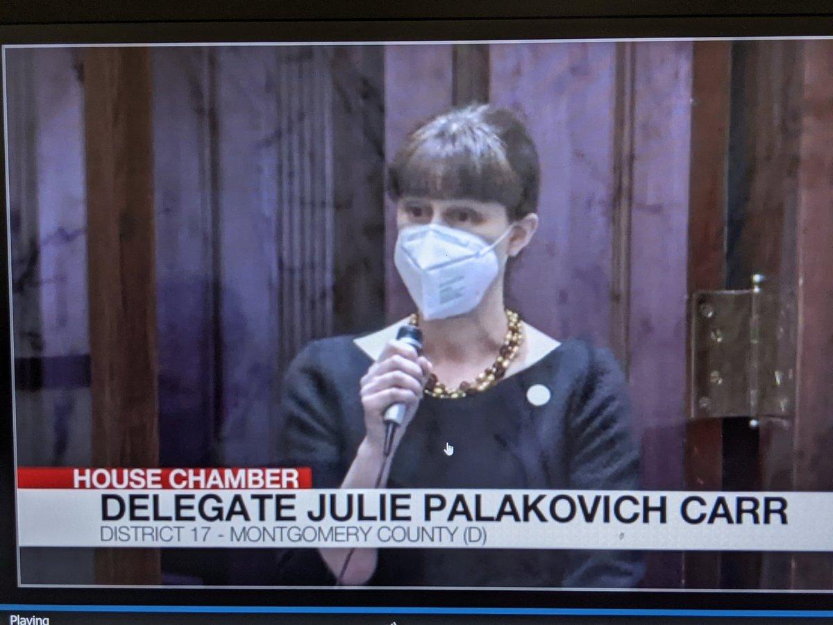 Thank you Delegate Palakovich Carr! https://t.co/kHADr9LwZu