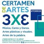 Image for the Tweet beginning: El certamen de Arte 3x3