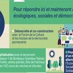 Image for the Tweet beginning: Les écologistes au pouvoir transforment