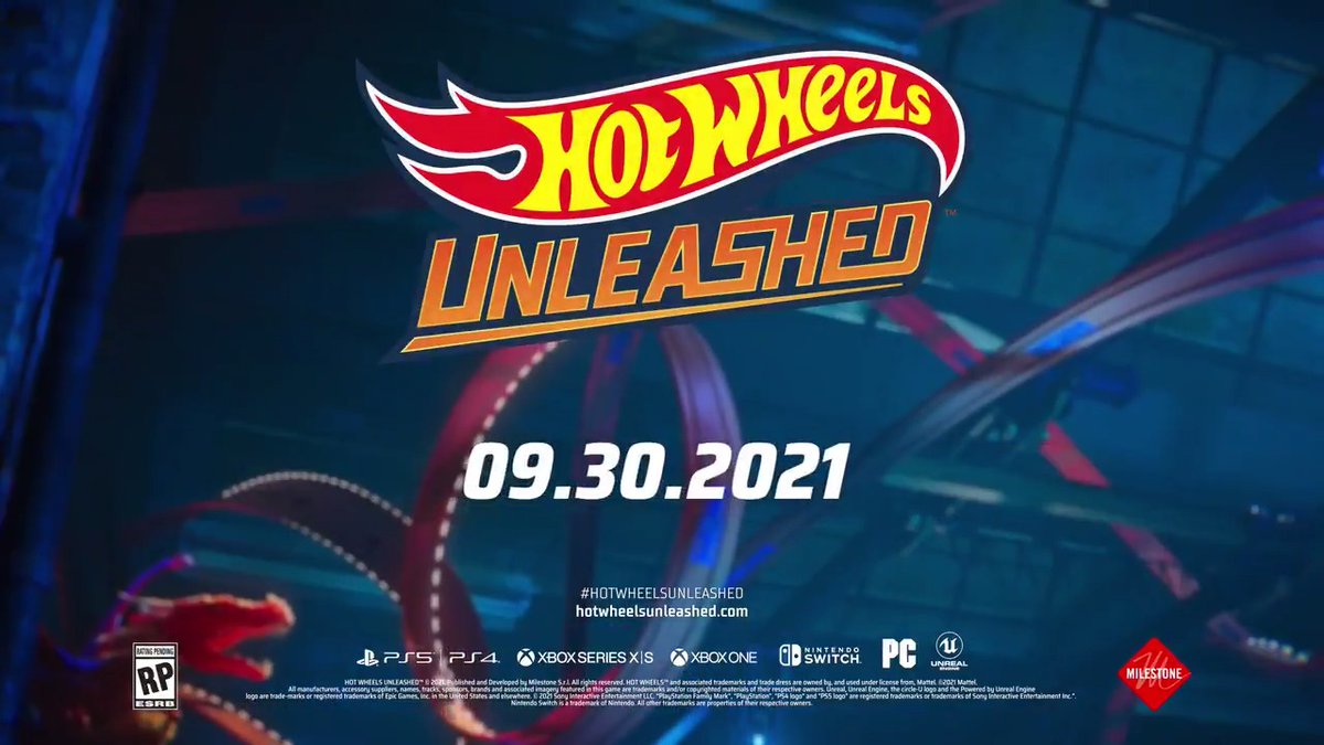 Racers please report to the starting line 🏁 and warm up those engines. Pre-order Hot Wheels Unleashed now on @PlayStation @Xbox @Nintendo: . #HotWheelsUnleashed