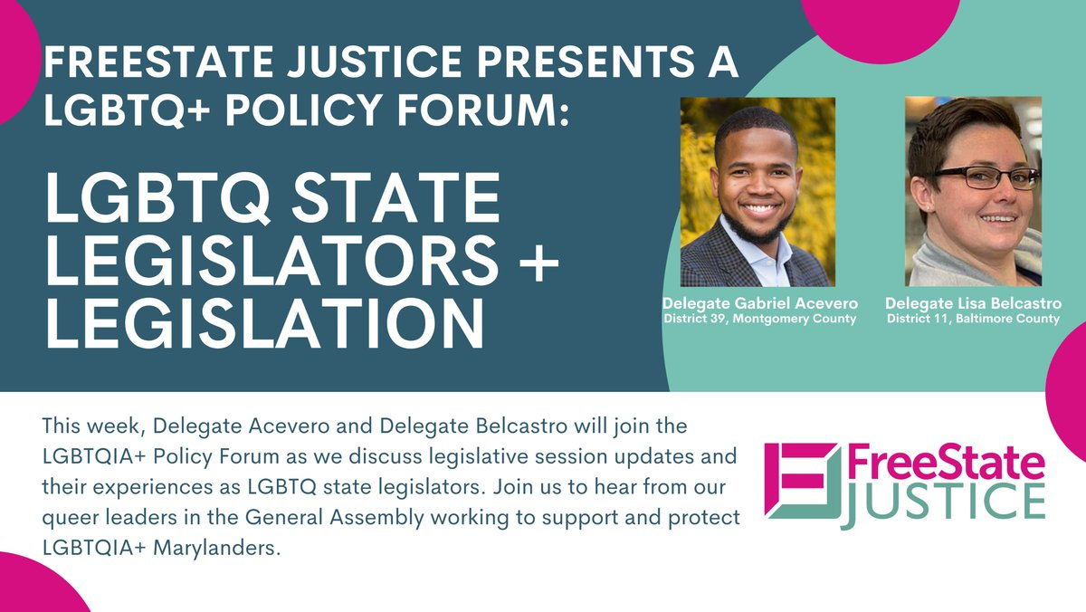 Hey there! Join my friend @GabrielAcevero and me tomorrow for a discussion with @FreeStateLGBTQ!