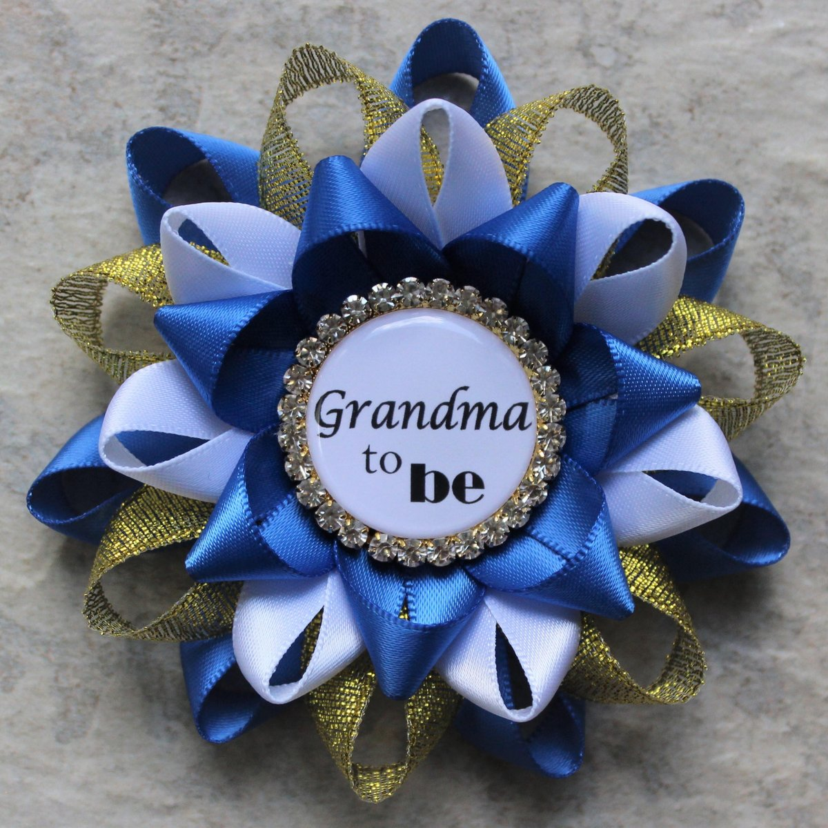 Royal Baby Shower Decorations, Little Prince Baby Shower Corsage Pins, Royal Blue and Gold Baby Shower, Baby Boy Shower Favors  #etsyshop #etsy #smallbiz #gifts #ecommerce #shopping #style #shopsmall