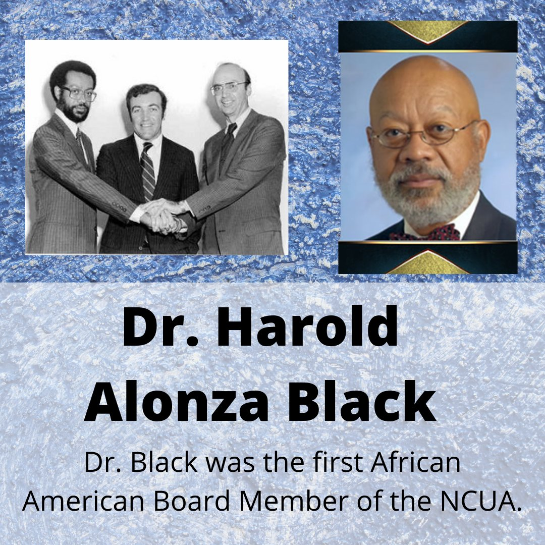 #BlackHistoryMonth - Dr. Harold Alonza Black was the first African American board member of NCUA. Learn more about his legacy here: