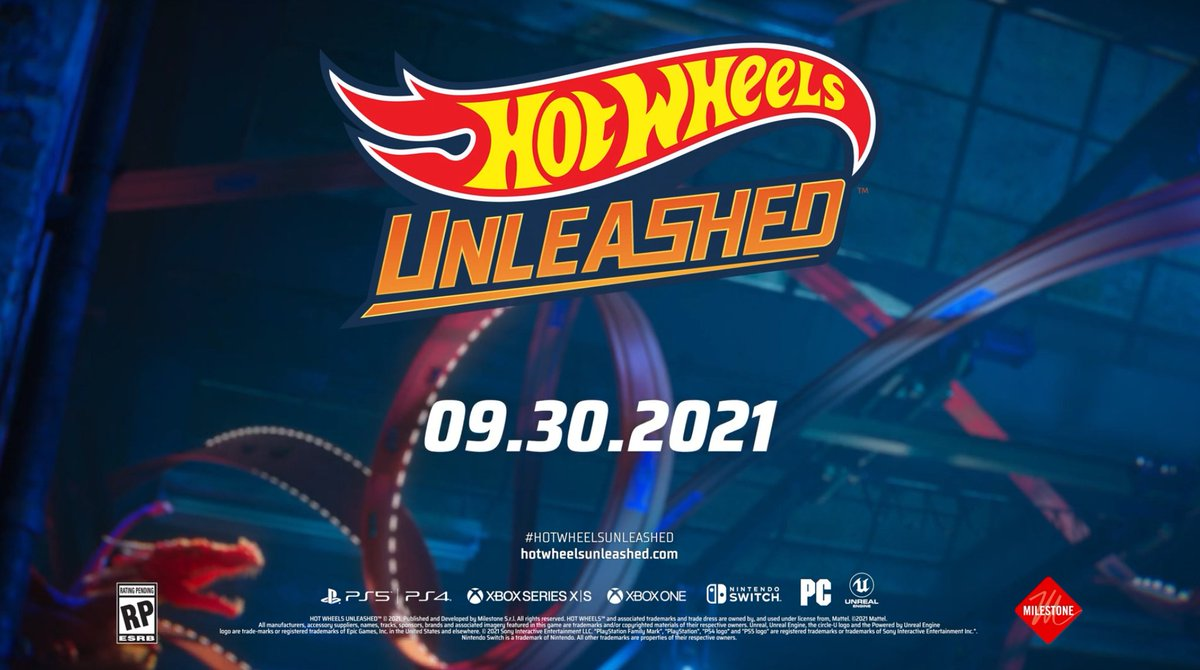 Hot Wheels Unleashed is coming to Switch, PS5, PS4, Xbox, and PC on September 30, 2021