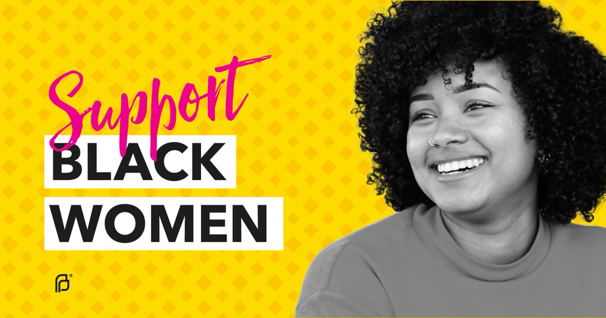 Black women have always shown up for us in the fight for sexual and reproductive health, including the fight against systemic racism. It's time we show up for them. #StandWithBlackWomen #BlackHistoryMonth