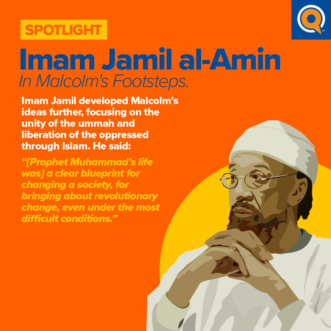 A 2020 survey revealed that 9 out of 10 Muslim Americans know little about Imam Jamil. His work for the Muslim American community requires that his story is celebrated. Scroll through 👉 to learn of the impact he has had on our community.   #bhm #blackhistorymonth #blackmuslims