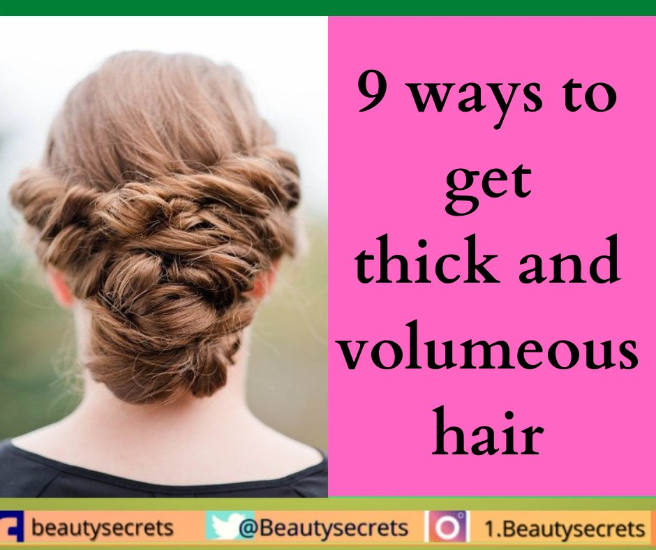 Get thick hair with these remedies:  #beautiful #thursdaymorning #thursdayvibes #FridayVibes