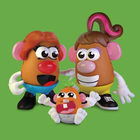 Mr Potato Head brand goes gender neutral, sort of Photo