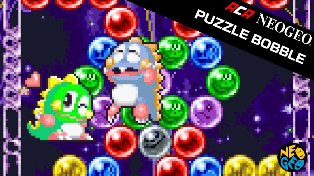 ACA NEOGEO PUZZLE BOBBLE (S) $3.99 via eShop.