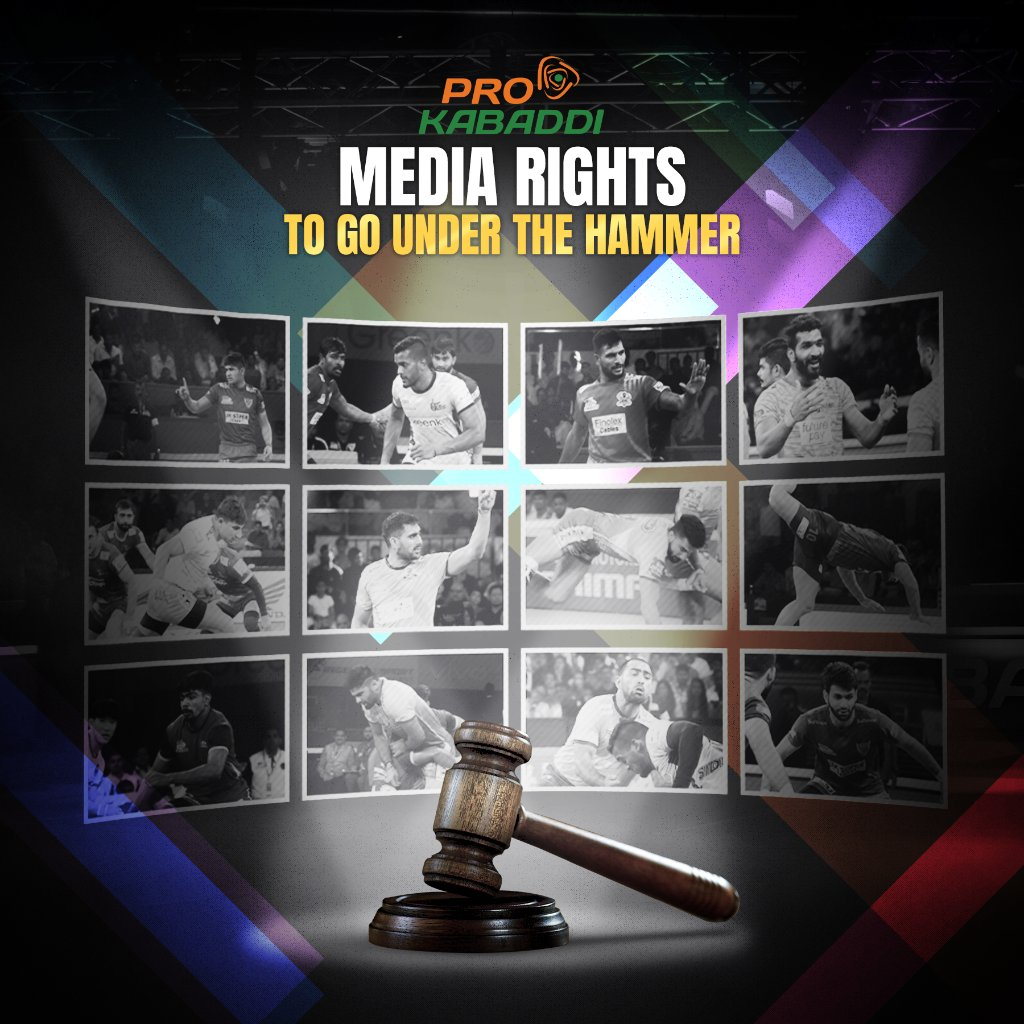 🚨Mashal Sports issues ITT to auction Pro Kabaddi League Media Rights 🚨 Mashal Sports Pvt. Ltd. is set to conduct an open market media rights auction for PKL Seasons 8 – 12 to be held during 2021–25. Purchase the ITT document from