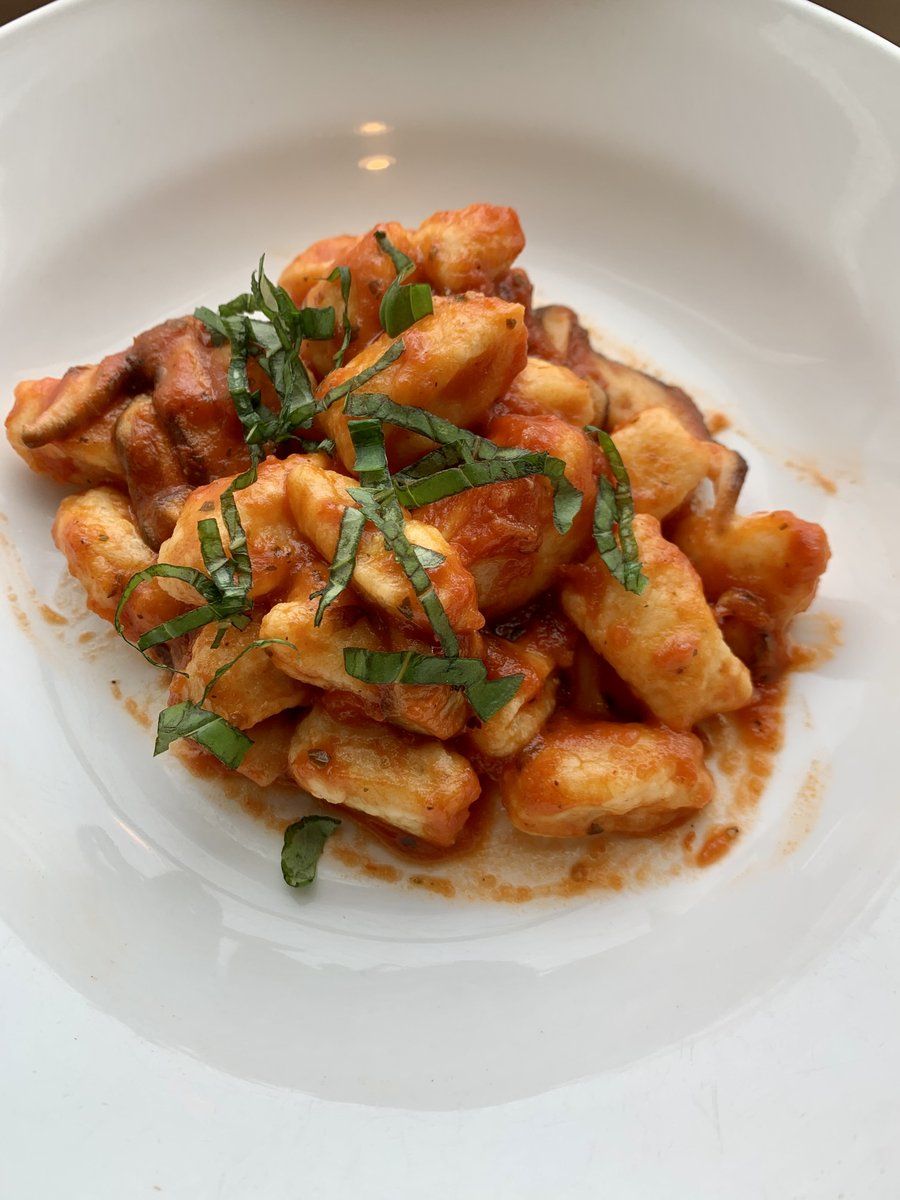 SVP Brian Gil even hosted a cooking class featuring his grandmother's homemade gnocchi recipe! These were the end results: