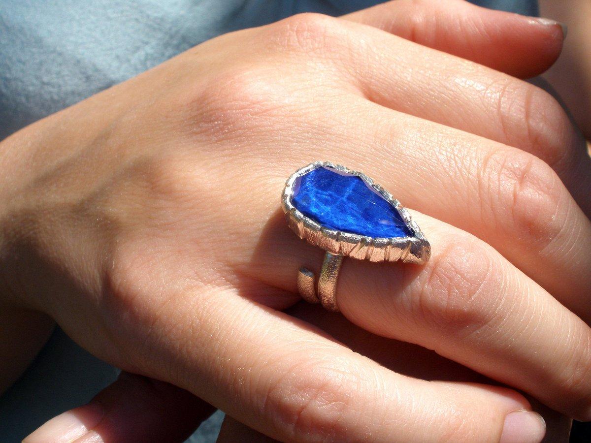 Lapis Lazuli Ring,One of a kind, Teardrop Ring, Blue Lapis Ring, Sterling Silver Boho Ring #teardropring #etsygifts #COVID19 #lapislazuliring #bohohippie #9thanniversarygem #stackingring #oneofakindring #bluelapisring #selfgift #giftforher #valentinesday