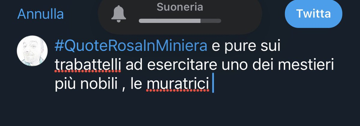 #Quoterosainminiera