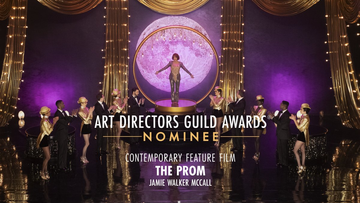 .@promnetflix is nominated for Contemporary Feature Film at the 25th Annual ADG Awards! https://