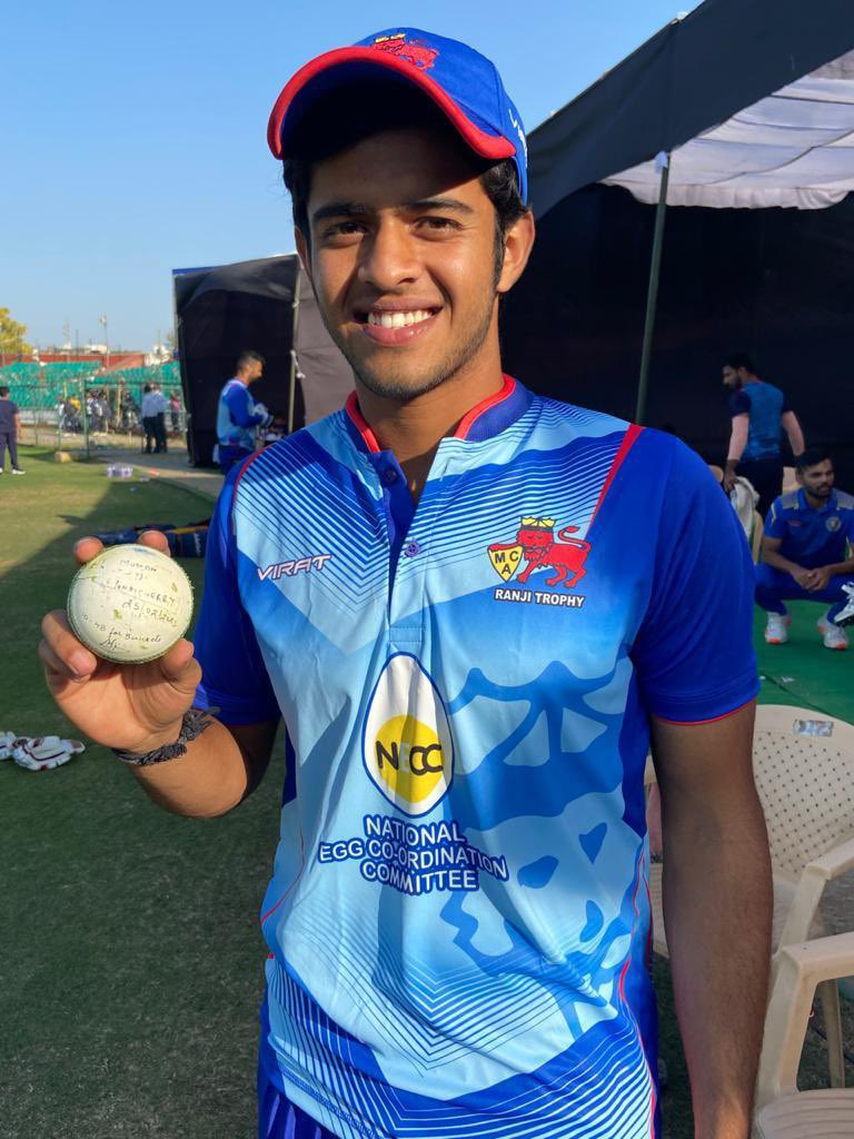 Many congratulations young man @Prashan43205707 - only last month you were playing a club game with me in Gurgaon and today you've picked up 5 wickets on your Mumbai debut in Vijay Hazare tournament. Am sure we will hear a lot about the young leggie Prashant Solanki