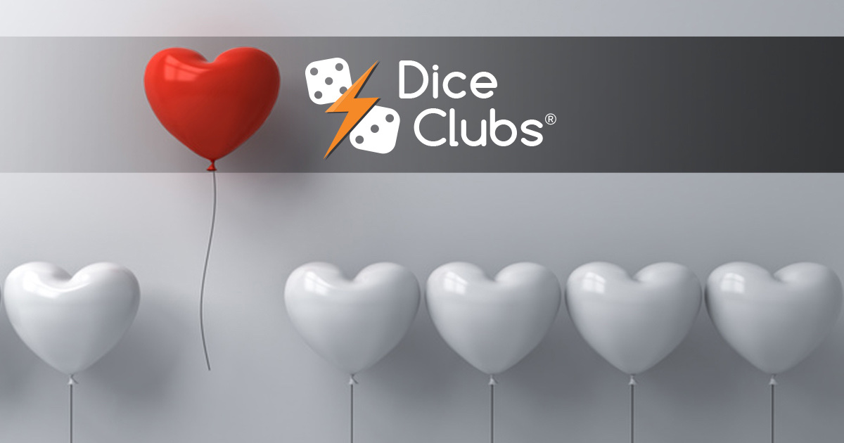 Je suis invicible dans Dice Clubs!   #diceclubs #diceduel #valentinesday #love #amour #valentinesday2021