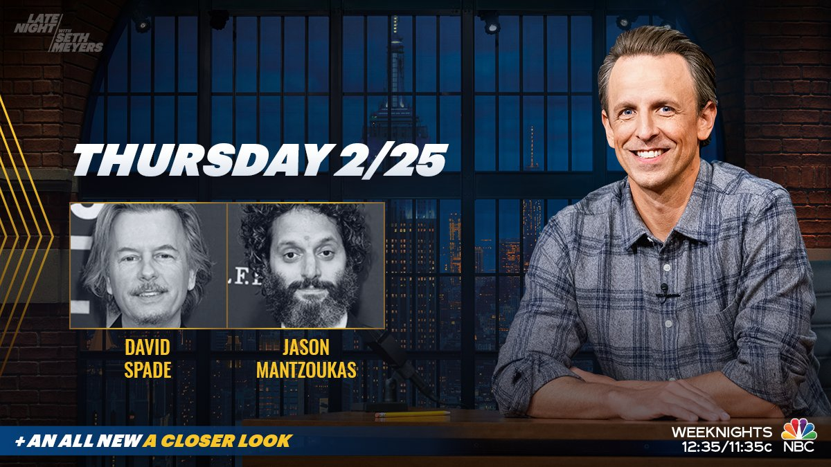Catch an episode of #LNSM with David Spade and Jason Mantzoukas.