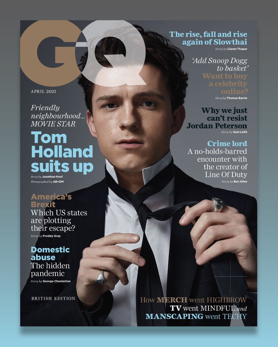 .@TomHolland1996 is our April 2021 cover star 🔥