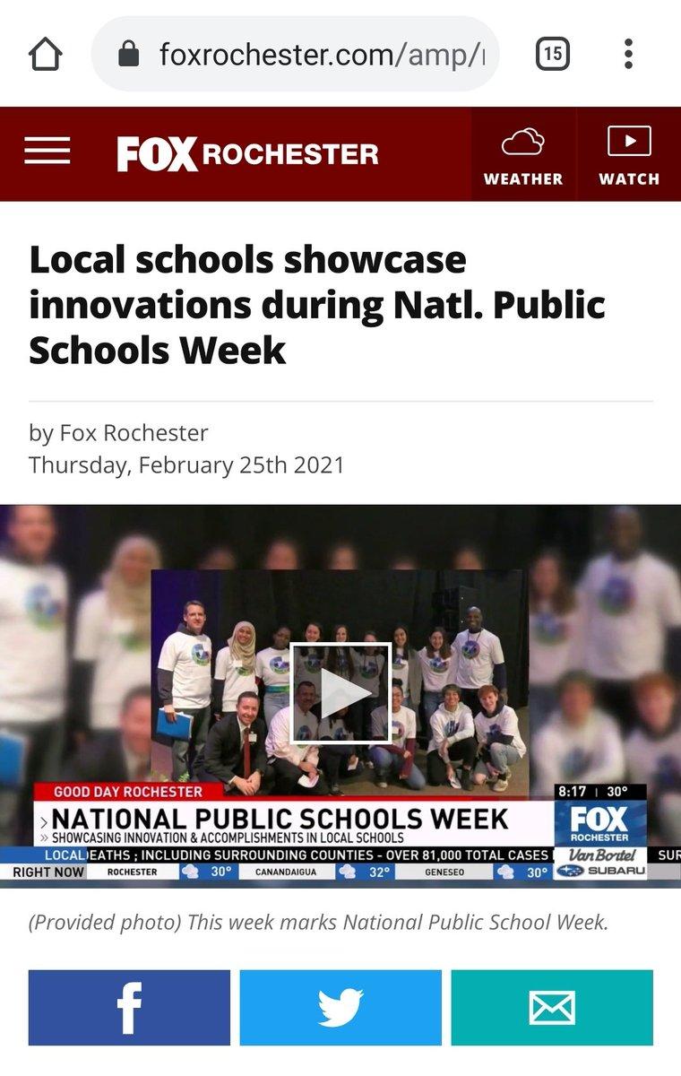 #PublicSchoolProud #PublicSchoolsWeek #ACT4Ed