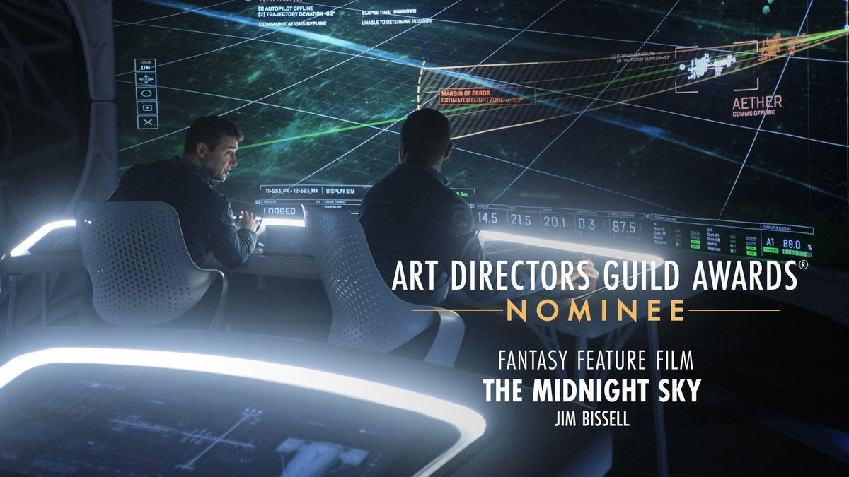 .@midnightskymov is nominated for Fantasy Feature Film at the 25th Annual ADG Awards!