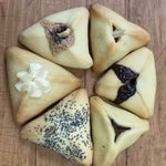 Happy Purim... Solly's Selection of Hamentashen...Fruit, Poppy, Apricot Ginger, Babka Chocolate,  Chocolate Peanutbutter, and Cheesecake... Eat a Hamentashen and BE HAPPY!