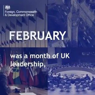 This month the UK has worked together with our partners to build a safer and fairer world for everyone 🌍  From vaccine access in conflict zones to sanctions against human rights violators, we're standing up for our values and delivering real impact where it's needed.  Recap ⤵️