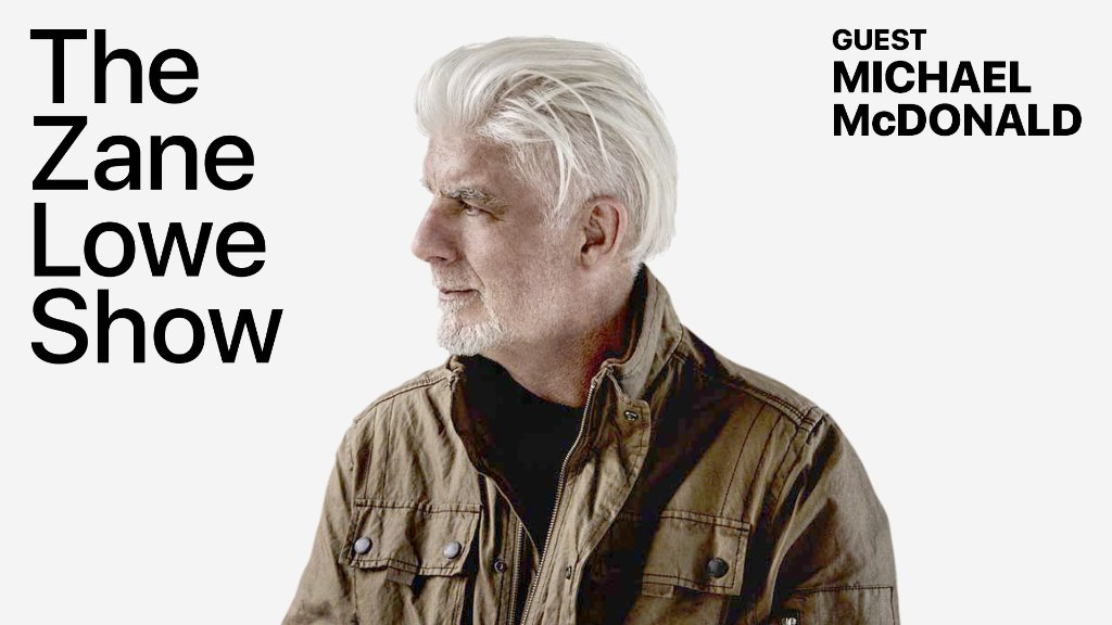 Legendary singer-songwriter @MichaelMcD_Real shares stories about songwriting, finding his voice, Steely Dan, and The Doobie Brothers with @zanelowe.  Listen live on Apple Music 1: