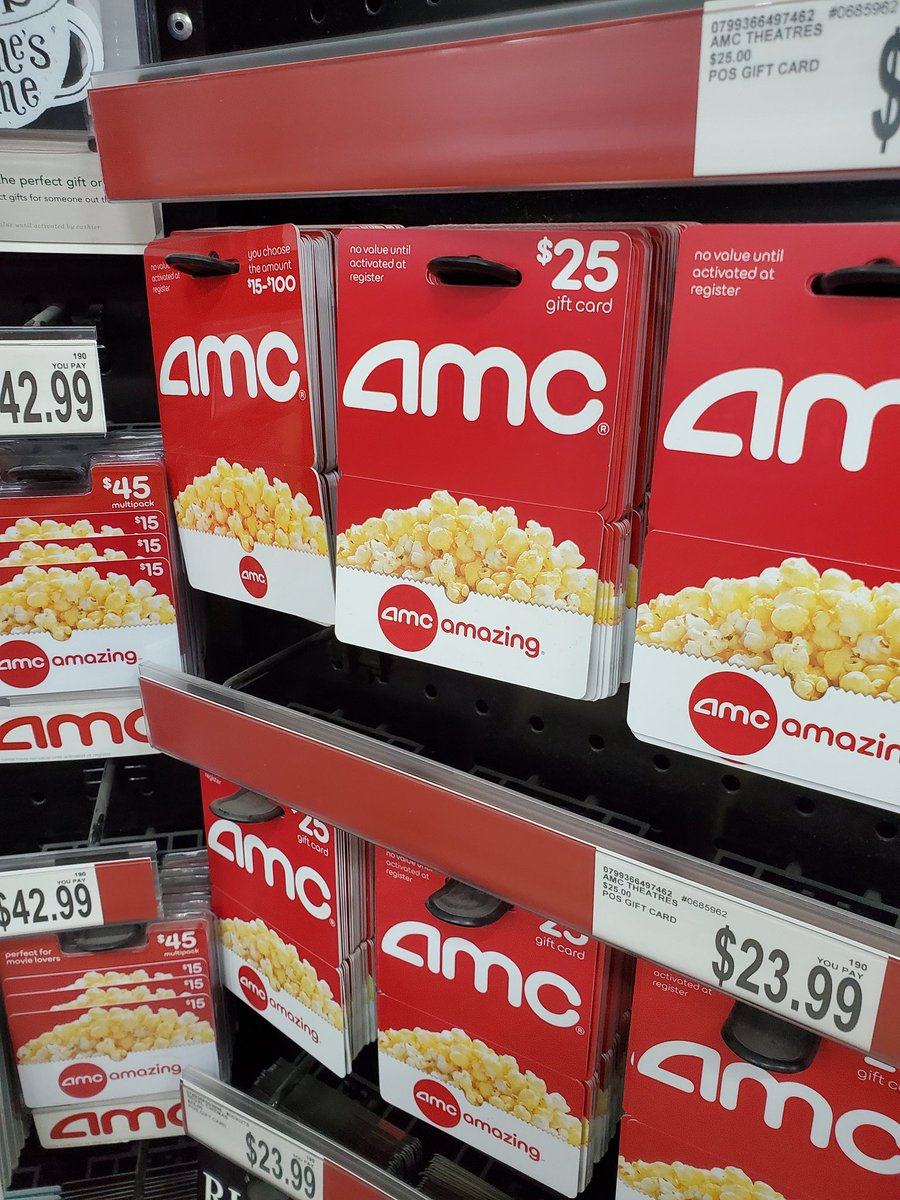 At BJ'S and what do we have here. @AMCTheatres #amc #SaveAMC #amcstock #AMCtothemoon #AMCto1000 🚀🚀🚀🚀🌙