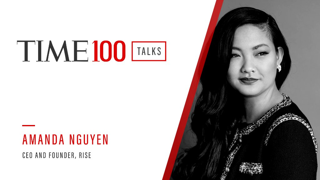 Join us for a live #TIME100Talks featuring Amanda Nguyen (@nguyen_amanda) on Friday, Feb. 26 at 1:00 PM EST. Register now: https://t.co/l4RxkGkSwH https://t.co/sYIn0hTdhC