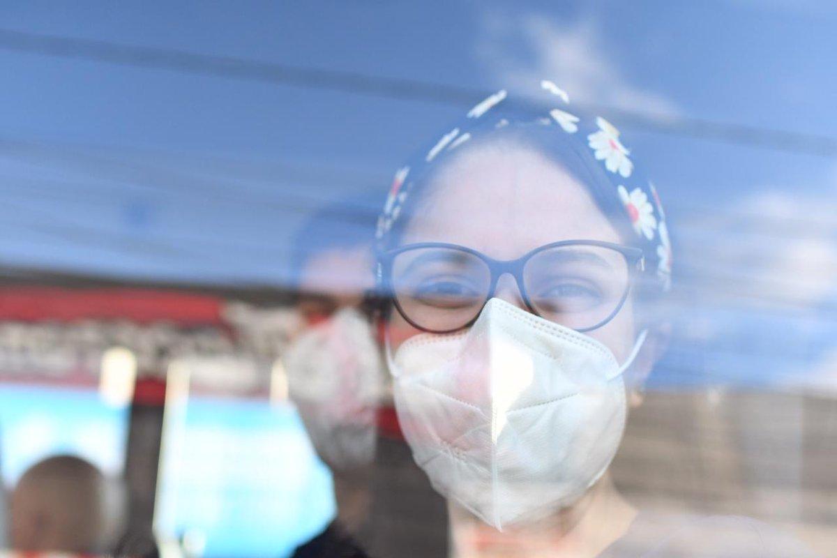 test Twitter Media - Personal médico de primera línea del Hospital General San Juan de Dios es trasladado al centro que se ha habilitado para la vacunación contra la COVID-19. Foto: Christian Gutiérrez https://t.co/X5d6p0Wk7B