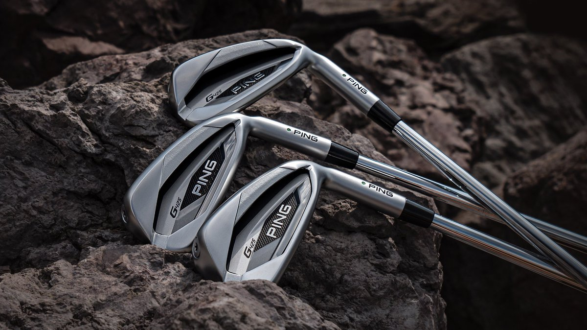 ⬆️ More speed, stopping power, distance. ⬇️ Smaller profile.   The #G425 sets a new standard in forgiveness for an iron its size.   See the specs:
