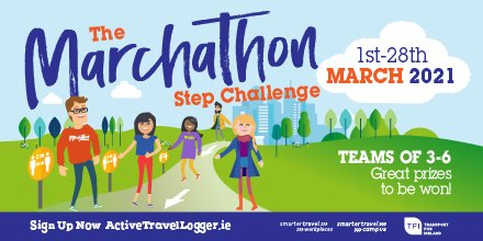 Where are all my #walkers who did #100KtoValentinesDay, or are on day 57 of #100DaysofWalking. #Marchathon2021 starts Mon. Is your team at the #StartingLine yet. Sign up on  or if looking for a team:  @STCampus @GMITSU @GMITofficial