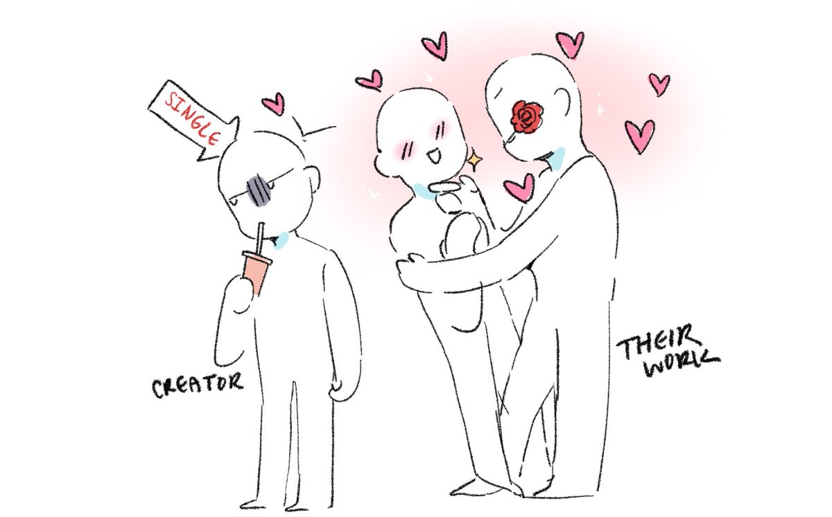 Creator vs their work lol