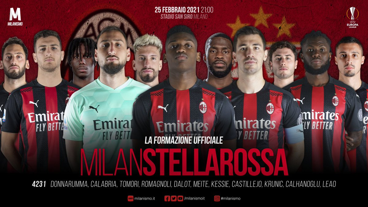 #MilanStellaRossa